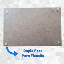 Quadro Decorativo A PAZ DE DEUS ESTÁ COM OS HUMILDES E SIMPLES E CORAÇÃO