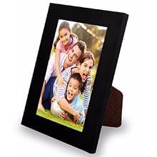 Porta Retrato 10- 15x21Cm Para Fotos e Poster Com Gravata e Vidro