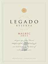 Placas Decorativas de Vinho Legado Mendonza PDV397