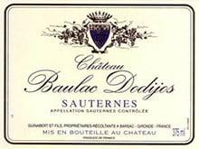 Placas Decorativas Vinho Baulac Dodijos France Retro Vintage PDV392