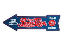 Placas Decorativas Bebidas Ice Cold Pepsi PDV387