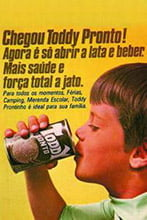Placas Decorativas Propagandas Antigas Toddy Pronto em lata PDV443