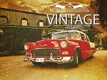 Placa Decorativa Vintage Carro American PDV166
