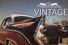 Placa Decorativa Vintage Carro American PDV165