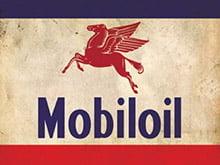 Placa Decorativa Vintage Carros Mobiloil PDV228