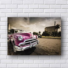 Quadros Decorativo Pick-Up Vintage