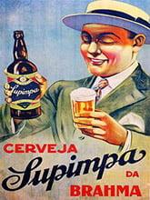 Placa Decorativa Cerveja Supimpa da Brahma PDV027