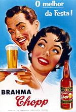 Placa Decorativa Brahma Chopp o Melhor da Festa Retro Vintage PDV033