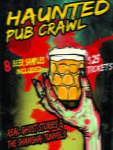 Placas Decorativas Cerveja Haunted Pub Beer PDV348