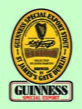 Placas Decorativas Cerveja Guinness Special Export PDV318