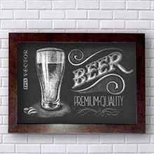 Placa Decorativa Beer Premium