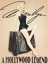 Placa Decorativa Vintage Retro Marilyn Monroe PDV146