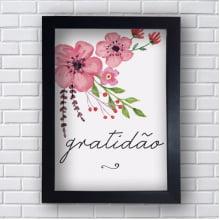 Placa Quadro Decorativo Gratidão