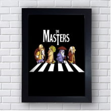 Placa Quadro Decorativo The Masters