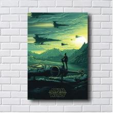 Quadro Decorativo Star Wars The Force Awaken
