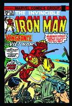 Placa Decorativa Iron Man Marvel Comics Quadrinhos Retro PDV431
