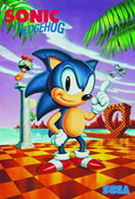 Placa Decorativa Sonic Game Retro PDV432