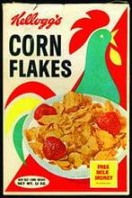 Placas Decorativas Kelloggs Corn Flakes Propaganda Antiga Vintage PDV421