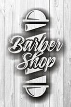 Placa Decorativa Vintage Retro Barbearia Shop PDV157