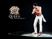 Placas Decorativas Queen Freddy Mercury Retro PDV409