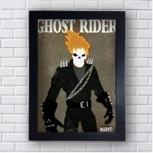 Placa Quadro Decorativo Ghost Rider