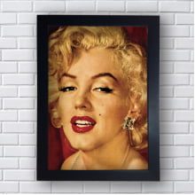 Placa Quadro Decorativo  marilyn monroe