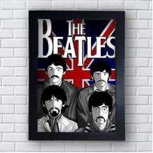 Placa Quadro Decorativo The Beatles