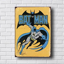 Quadro Decorativo Batman Retro