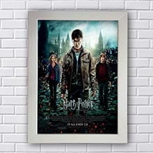 Quadro Decorativo Harry Potter As Reliquias da Morte