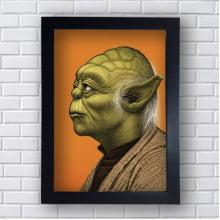 Quadro Decorativo Mestre Yoda