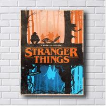 Quadro Decorativo Stranger Things Netflix