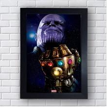 Quadro Decorativo Thanos