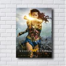 Quadro Decorativo Wonder W Woman