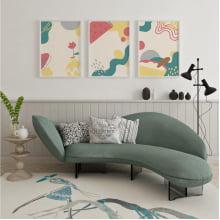 Kit Quadros Decorativos Arte Moderna Abstrato Colorido