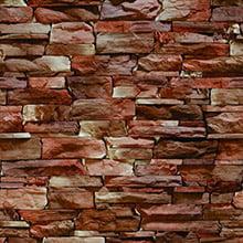 Papel de Parede Pedra Cajinquinha Bronze Autocolante PD11