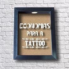 Quadro Cofre para Tattoo
