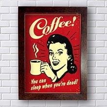 Quadro Cafe Vintage
