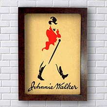 Quadro Johnnie Walker