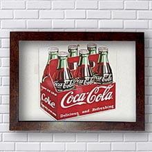Quadro Coca Cola Cozinha