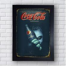 Quadro Coca Cola Halloween Pepsi