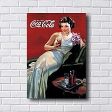 Quadro Drink Coca Cola Retro