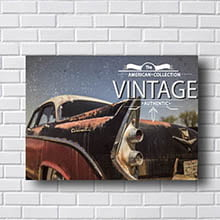 Quadro Carro Vintage Authentic