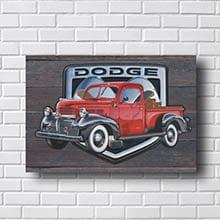 Quadro Carro Vintage Dodge