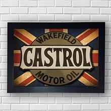 Quadro Castrol Motor Oil