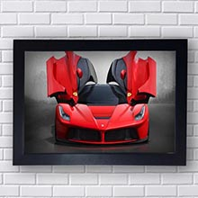 Quadro Decorativo Ferrari