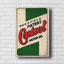 Quadro Vintage Castrol Motor Oil