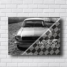 Quadro Vintage MuscleCar Retro