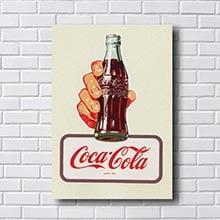Quadro Coca Cola Antigo