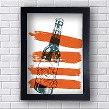 Quadro Decorativo Cerveja Garrafa