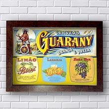 Quadro Decorativo Cerveja Guarany